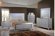 Valentino Silver Bedroom Collection Product Image