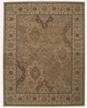 HERITAGE HALL HE06 MULTICOLOR RECTANGLE RUG 3'9'' x 5'9''