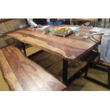 Jamestown Rustic Grey Bench