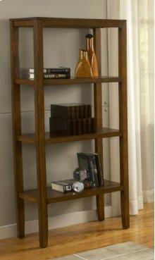 Pecan Bookcase