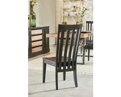 Chimney Tuxedo Side Chair