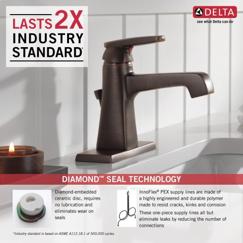 Venetian Bronze Single Handle Lavatory Faucet