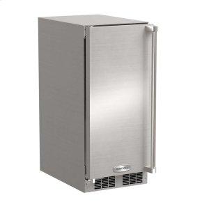 Marvel15-In Outdoor Built-In Clear Ice Machine with Door Swing - Left, Pump - Yes