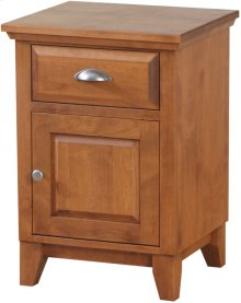 Right Hand Hinge Night Stand