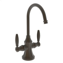 Weathered Brass Hot and Cold Water Dispenser