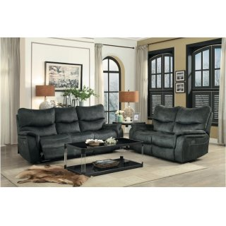 Goby Power Reclining Sofa w/ Adjustable Headrests