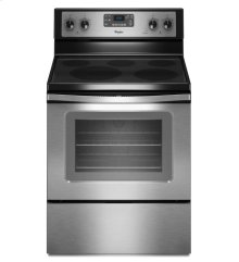 5.3 cu. ft. Electric Range with Fan Convection Cooking.