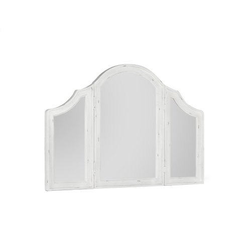 Emerald Home B312-27 Bordeaux Mirror, Antique White