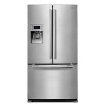 26 cu. ft. French Door Refrigerator (This is a Stock Photo, actual unit (s) appearance may contain cosmetic blemishes.  Please call store if you would like actual pictures)  MANUFACTURER WARRANTY and REBATE NOT VALID with this item. ISI32650