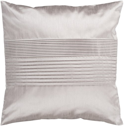 "Solid Pleated HH-015 18"" x 18"" Pillow Shell with Polyester Insert"