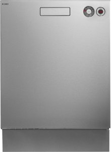 Built-in Dishwasher with Front Controls - Stainless Steel