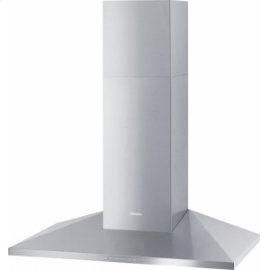 MieleDA 399-7 Classic Wall ventilation hood with energy-efficient LED lighting and backlit controls for easy use.