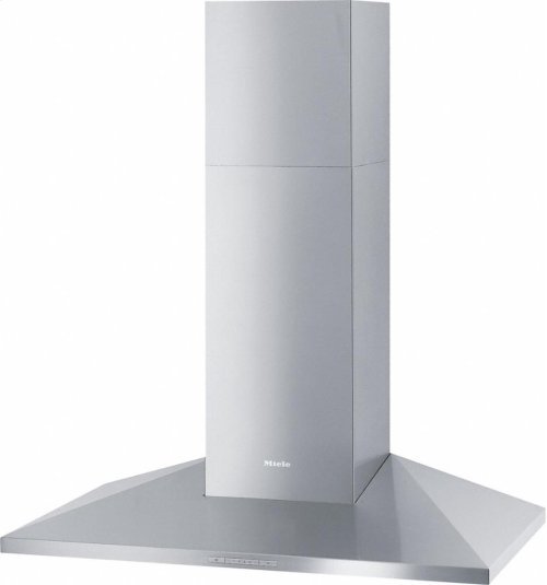 DA 399-7 Classic Wall ventilation hood with energy-efficient LED lighting and backlit controls for easy use.