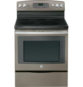 """GE® 30"""" Free-Standing Electric Convection Range (CLEARANCE 747Q)"""