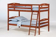 Sesame Twin Twin Bunk in Cherry Finish Product Image