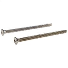 Chrome Screws (2) - Escutcheon Trim