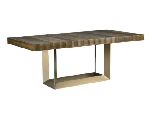 Bandon Rectangular Dining Table Complete