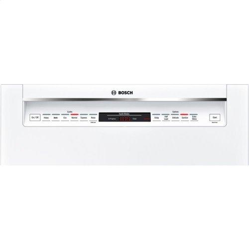 24' Recessed Handle Dishwasher 800 Series- White