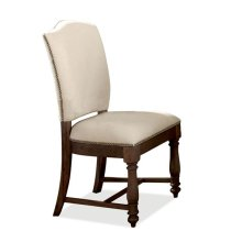 Mix-N-Match Upholstered Side Chair Warm Tobacco finish