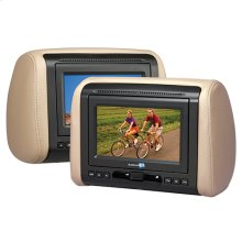 7 inch headrest monitor only system