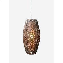 (LS) Dewi Ellipse Hanging Lamp (M) (14x14x28)