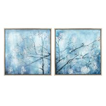 Winterset Framed Oil Painting - Ast 2