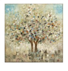 Seasons Handpainted Oil Canvas