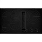 """36"""" JX3 Electric Downdraft Cooktop with Glass-Touch Electronic Controls, Black Product Image"""