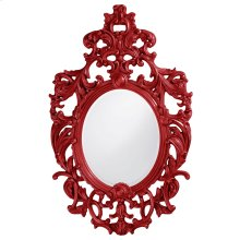 Dorsiere Mirror - Glossy Red