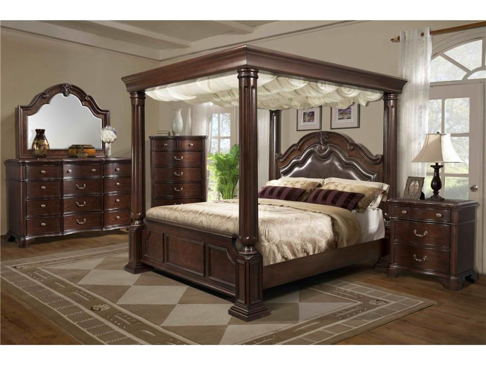 Charmant Elements Furniture TB600 Tabasco Wooden Canopy Bedroom Set Houston Texas  USA Aztec Furniture
