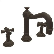 Oil Rubbed Bronze Widespread Lavatory Faucet