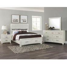 Mansion Bed with avaliable storage (King or Queen)