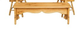 "#184 52"" Farm Bench 52""wx13""dx18""h"