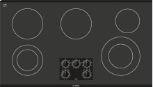 "36"" Black Electric Cooktop 300 Series - Black NEM3664UC"