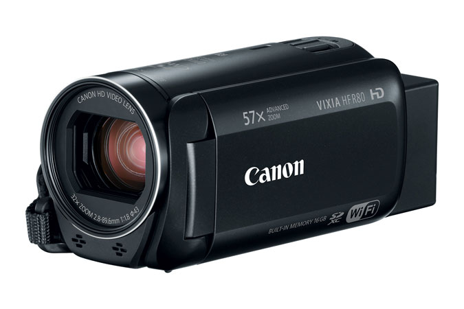 Canon VIXIA HF R80 HD Camcorder High Definition Personal Camcorder
