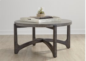 CLEARANCE ITEM--Round Cocktail Table
