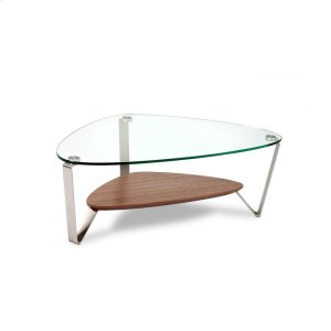 Bdi FurnitureSmall Coffee Table 1344 in Natural Walnut
