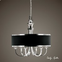 Tuxedo, 6-Lt Single Shade Chandelier Product Image