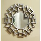 Transitional Silver Accent Mirror Product Image