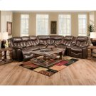 Reclining Sofa W/Table Product Image