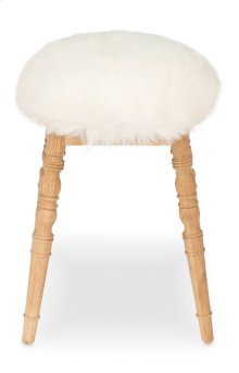 Winoma Stool, White