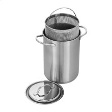 Demeyere RESTO 4.8-qt Stainless Steel Asparagus and Pasta Cooker Set