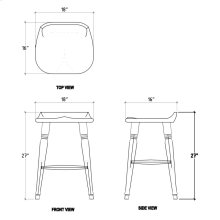 Tractor Counter Stool - WDB