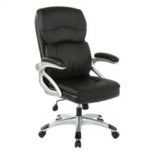High Back Leather Executive Manager's Chair