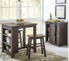 Madison County 3pc Counter Height Set - Barnwood Product Image