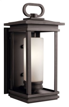"""South Hope 19.75"""" 1 Light Wall Light Rubbed Bronze"""