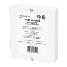 4 X 60W CLASS 2 TRANSFORMER - White