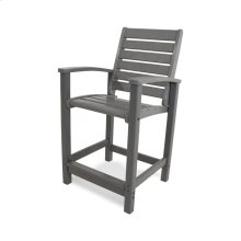 Slate Grey Signature Counter Chair