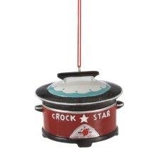 Crock Pot Queen Ornament.