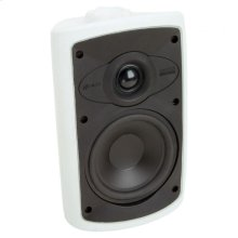 White, Indoor/Outdoor Loudspeaker; 5-in. Poly Woofer 2-Way-White OS5.3 - White